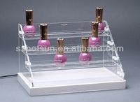 mac makeup nailpolish shelves display stand China wholesale