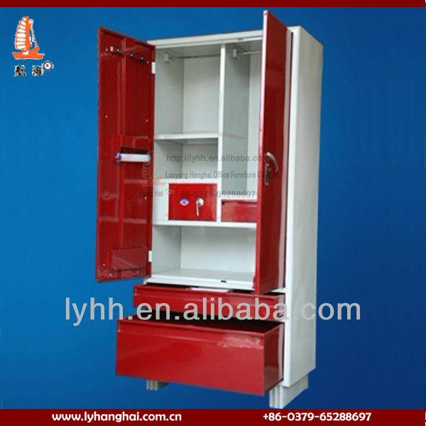 Home Storage Furniture Standard Steel Bedroom Cupboard