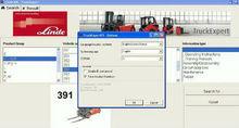 Carretilla elevadora manual de herramientas de diagnóstico para camiones, linde diagramas de cableado