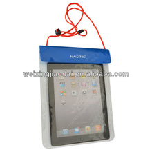 pvc waterproof ipad pouch bag / ipad case pvc waterproof case for i pad