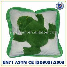 Cute soft animal plush cushion