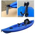 Canoa/Caiaque de pesca para uma única pessoa com novo leme e pedal