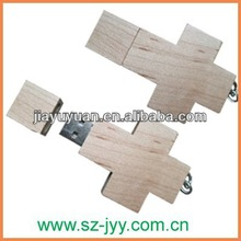 TOP Selling Classic Wooden Usb 3.0 wood cross usb