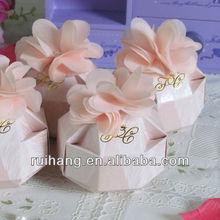 Wedding Favors Vintage Paper Candy Box--WB002