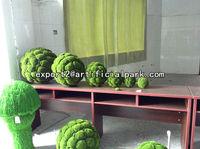 Artificial elliptic moss mat home wedding party garden decoration use