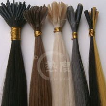 nutural looking new arrival virgin hair i tip hair extensions keratin tipped fusion hair extensions