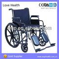 Wap. tuv déployante en acier fauteuil roulant manuel