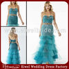 LA119 2014 Fashion Trend Western Style Sweetheart Shiny Tulle Tea-Length Exotic Party Dress