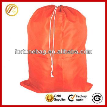 Comfortable durable nylon laundry bags
