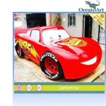 Attractive entertainment cartoon car
