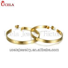 2013 Wholesale Fashion Vintage Gold Earring Designs