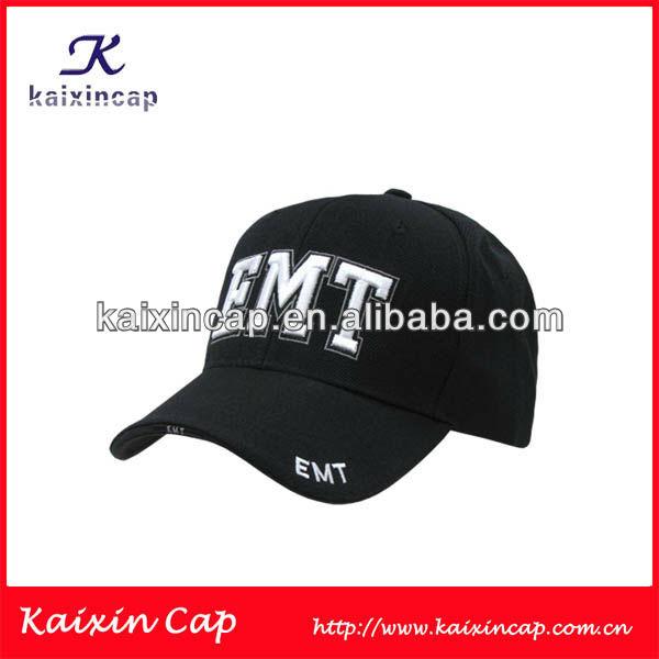 CUSTOM OEM DESIGN BASEBALL CAPS HATS WITH 3D PUFF EMBROIDERY LOGO ADJUST METAL BUCKLE CLOSURE