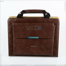 PU Leather Hand Carry Bag Fold Stand Cute Briefcase Case for Apple iPad 3 P-iPAD3CASE045