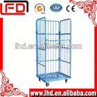 Folding warehouse mobile Logistics Carts