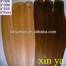 2013 AAAAA grade free shipping brazilian straight wave hair weft