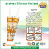 acid free silicone,acetic silicone sealant(SGS,ROHS,REACH)