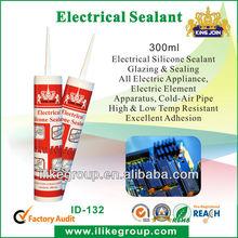 hot sales black tack adhesive, electrical silicone sealant