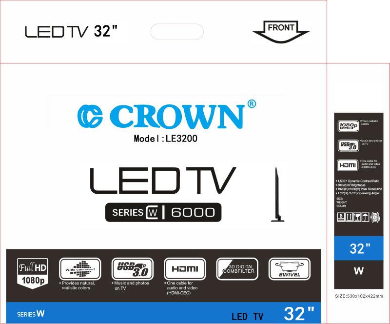 CROWN LED TV