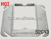 2013HOT Galvanized steel square electrical meter box cover