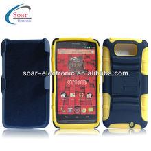 rubberized for motorola xt1080 holster case