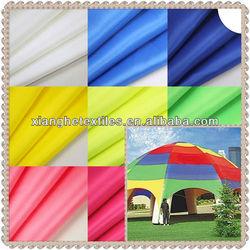 tent fabric waterproof yarn dyed polyester taffeta fabric
