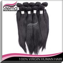 cheap grade AAAAA brazilian natural relaxed straight hair