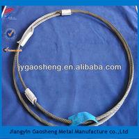 7x19 round steel wire rope sling