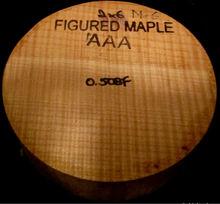 Figured Curly Maple Lathe Wood Bowl Blank 2x6 Shipped Free Woodturning Lumber M-6