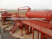 WASTE TYRE PYROLYSIS FUEL OIL SYSTEM