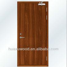 HX131017-MZ091 PVC veneered HPL laminate fireproof door