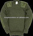 50% 50% de lana de acrílico de punto suéter suéter tejido a mano de lana suéters