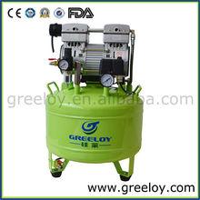 Practical Micro Thermally Protected 1HP Motor Dental Air Comressor 40 Liter