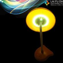 led mushroom night light/led projector night lamp with mushroom shape for table