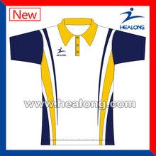 New Design Plain Sport Polo T shirt For Men Full Sublimation