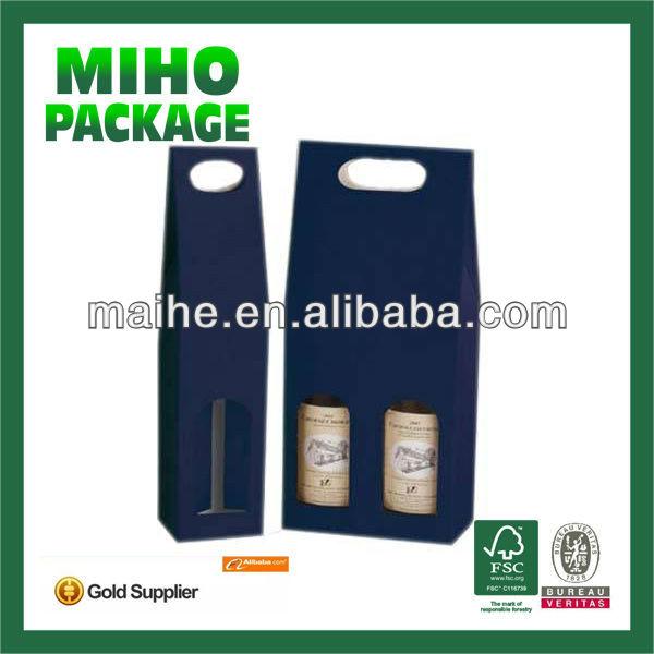 2 bottle wine carrier/3 bottle wine carrier/folding wine box