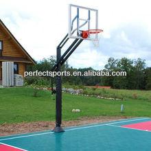 Ultimate Basketball System In Backyard