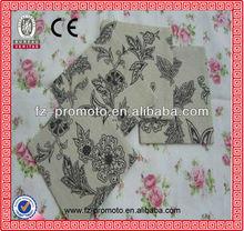 popular cotton printed handkerchief for hot sale