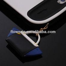 FL2630 Guangzhou wholesale 3.5mm fashion handbag dust plug for iphone