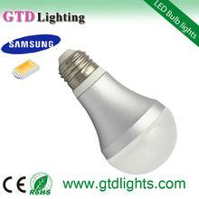 2013 hot tuv gs e14 5w led bulb light warm white 380lm CE RoHS Approval