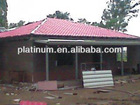 2013 New Product Prefabricated Steel House with Fiber Cement Siding for Exterior Wall