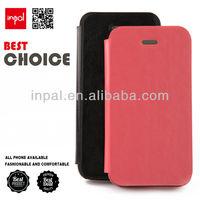 shenzhen manufacturer oem/odm pu leather flip case for iphone 4