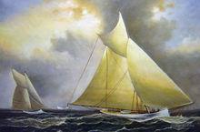 canvas painting-wholesale fabric landscape painting designs