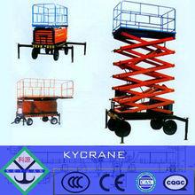 hydraulic mobile scissor table lift mechanism