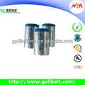 3.6v batería de litio 1/2aa er14250 primaria en seco de la célula
