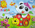 3d cartoon panda pittura diy disegnare eva