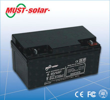 <MUST Solar>12v battery charger and 12v battery