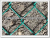 chain link fence green pvc coated /pvc coated cyclone wire mesh made in china