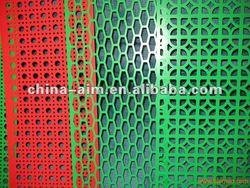pvc coated decorative metal fencing panel