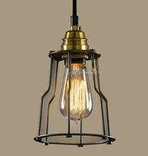 Modern Industrial And Iron line Art Pendant lighting
