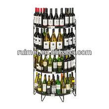 Half Round POP Wine Display designed for shops
